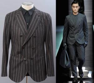 ジョルジオアルマーニのダブルスーツ